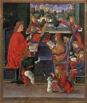 Maximilian_Sforza_Attending_to_His_Lessons_Donatus_Grammatica-300x357